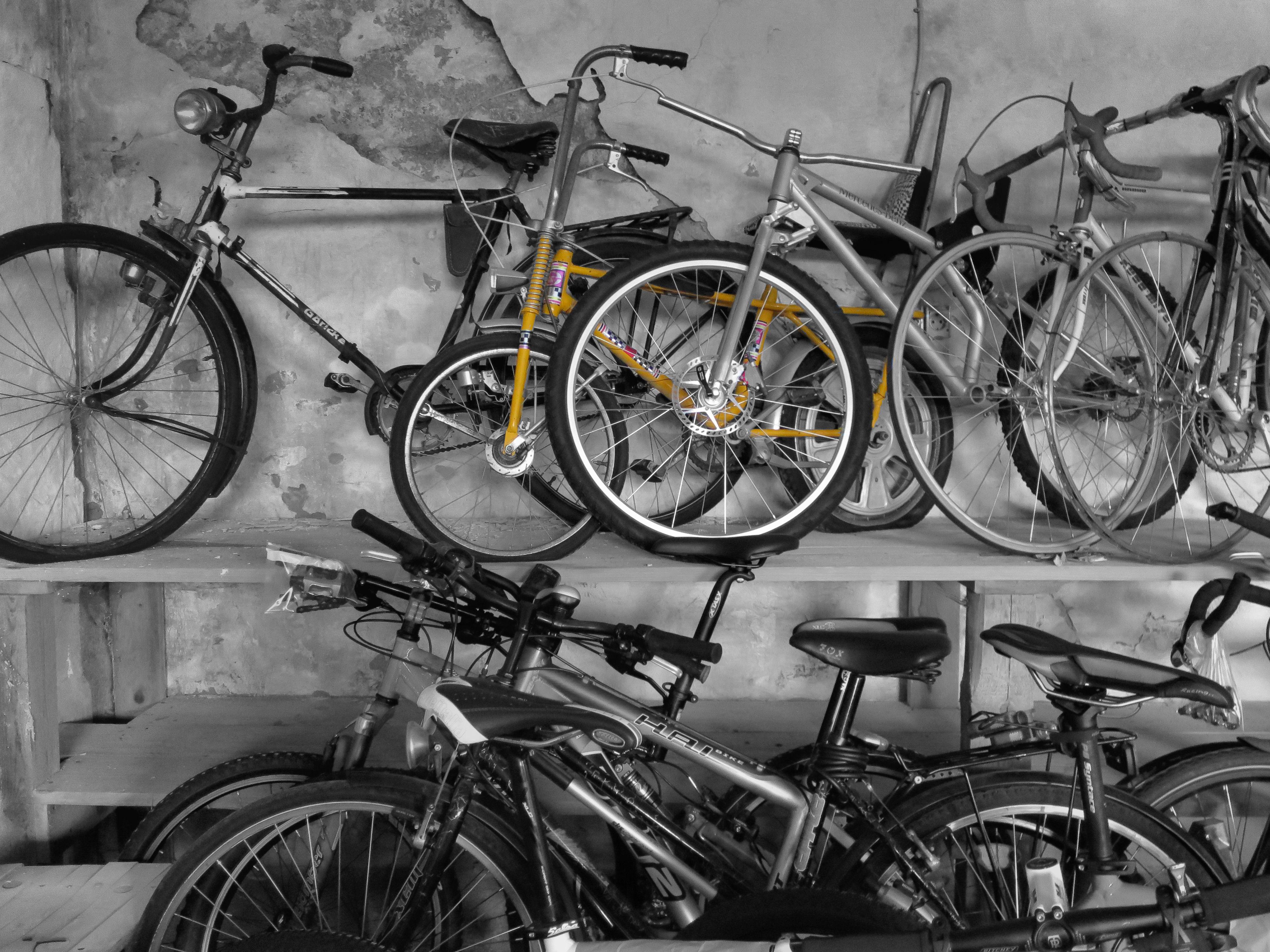 Gebrauchte Räder im Bike Shop Gerakaris